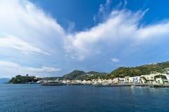 Италия Сицилия Eolie, Lipari стоковые фотографии rf