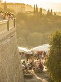 Италия, Тоскана, город Флоренса Стоковая Фотография RF