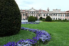 Италия, Lombardia, Варезе: Вилла Mirabello стоковые фото