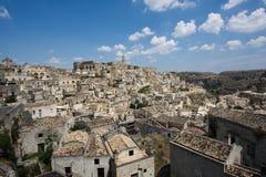 Италия matera стоковое изображение