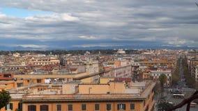Италия rome Панорама старой части города сток-видео
