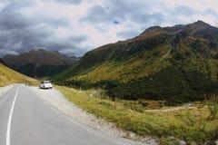 итальянка автомобиля alpes стоковые изображения