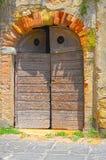 итальянка двери стоковое изображение