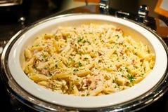итальянка еды тарелки Стоковая Фотография RF