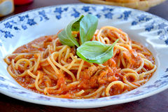 итальянка еды Стоковая Фотография RF