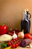 итальянка еды Стоковые Фотографии RF
