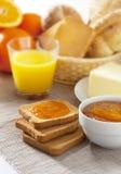 итальянка завтрака стоковое фото