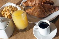итальянка завтрака стоковые изображения