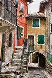 итальянка задворк стоковое фото rf