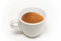 итальянка кофейной чашки Стоковое фото RF