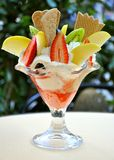 итальянка мороженого Стоковые Изображения RF