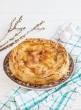 Итальянка пасха пирога Pasqualina типичная стоковое фото