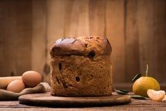 итальянка рождества торта Стоковые Изображения RF