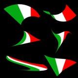 Итальянка сигнализирует собрание - вектор бесплатная иллюстрация
