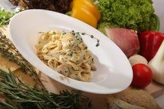 итальянка тарелки Стоковая Фотография