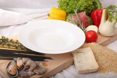 итальянка тарелки Стоковые Изображения