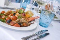 итальянка тарелки Стоковое Фото