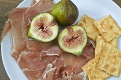 итальянка тарелки Стоковые Изображения RF
