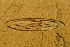 итальянка урожая круга стоковая фотография rf