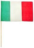 итальянка флага Стоковые Фотографии RF