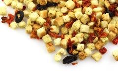 итальянка цветастых croutons crunchy свежая Стоковые Изображения