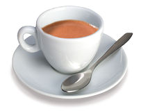 итальянка espresso чашки Стоковое фото RF