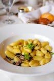 итальянка gnocchi стоковая фотография