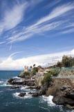 итальянка riviera свободного полета стоковые изображения rf