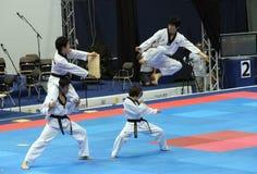 итальянка taekwondo genoa чемпионатов стоковое изображение