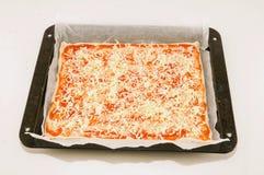 Итальянская еда пиццы Стоковые Фото