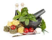Итальянская еда стоковое фото rf