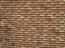 итальянская крыша крыла черепицей Стоковые Фотографии RF