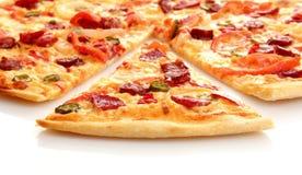 итальянская пицца вкусная стоковое фото