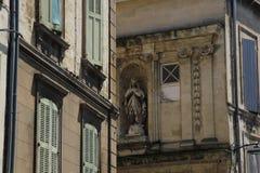 Итальянская статуя ` s девой марии стоковые фотографии rf