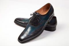 итальянские ботинки людей s Стоковая Фотография RF