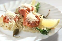 итальянские макаронные изделия Стоковые Изображения