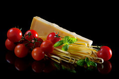 итальянские макаронные изделия Стоковая Фотография RF