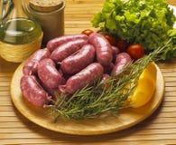 итальянские сосиски стоковая фотография rf