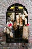 итальянские сосиски стоковое изображение