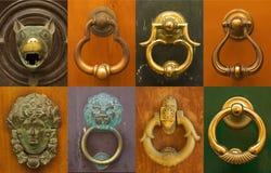 Итальянские doorknockers Стоковые Фотографии RF