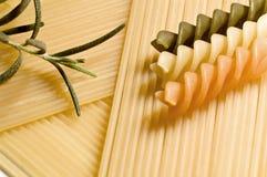 итальянские pastas Стоковые Фото