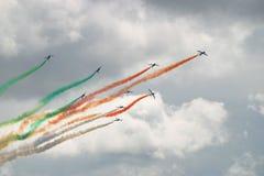 итальянский авиаотряд стоковые фото