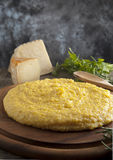 итальянский желтый цвет polenta Стоковая Фотография RF