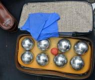 Итальянский комплект боулинга Стоковые Фотографии RF