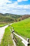 Итальянский ландшафт с грязными улицами стоковое фото rf