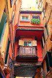 Итальянский старый балкон Стоковое фото RF