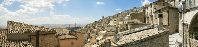 итальянский старый городок панорамы Стоковое фото RF