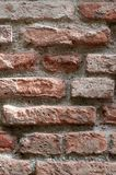 Итальянский старый дом: типичная каменная стена стоковое изображение rf