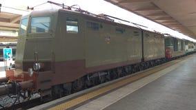 Итальянский старый поезд Стоковая Фотография RF