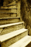 итальянский старый stairway Стоковые Изображения RF